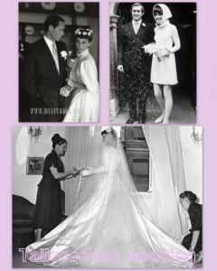 Audrey Hepburn. Storia di un abito da sposa mai indossato.