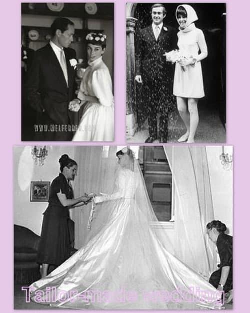 Audrey Hepburn: Storia di un abito da sposa mai indossato.