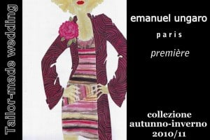 Emanuel Ungaro – Première. Collezioni autunno-inverno 2010/11.