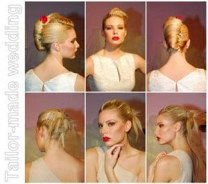Acconciature da sposa. Ispirazione Haut Couture.