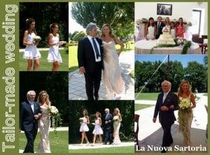 Matrimonio di Laura e Remo. Cerimonia all'aperto.