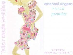 Emanuel Ungaro – Première. Collezione Primavera – Estate 2011.
