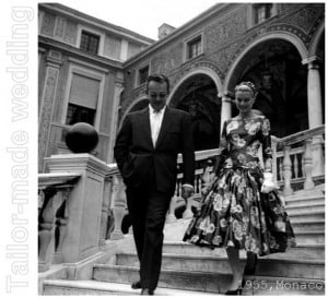 Storia di un abito: Grace Kelly. Incontro con il Principe Ranieri.
