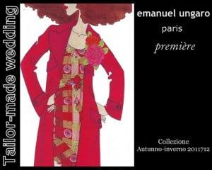 Emanuel Ungaro – Première. Collezione Autunno – Inverno 2011/2012.