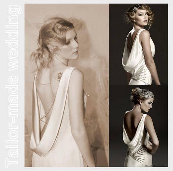 Famoso L'importanza del dettaglio: l'abito da sposa visto da dietro. ZY11