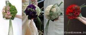 Nuove proposte per il bouquet rotondo