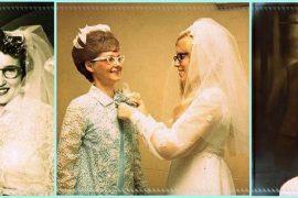 La sposa con gli occhiali