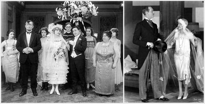 Conosciuto Abiti da sposa nel cinema, anni '20 | Abiti da sposa Milano. La  NV23