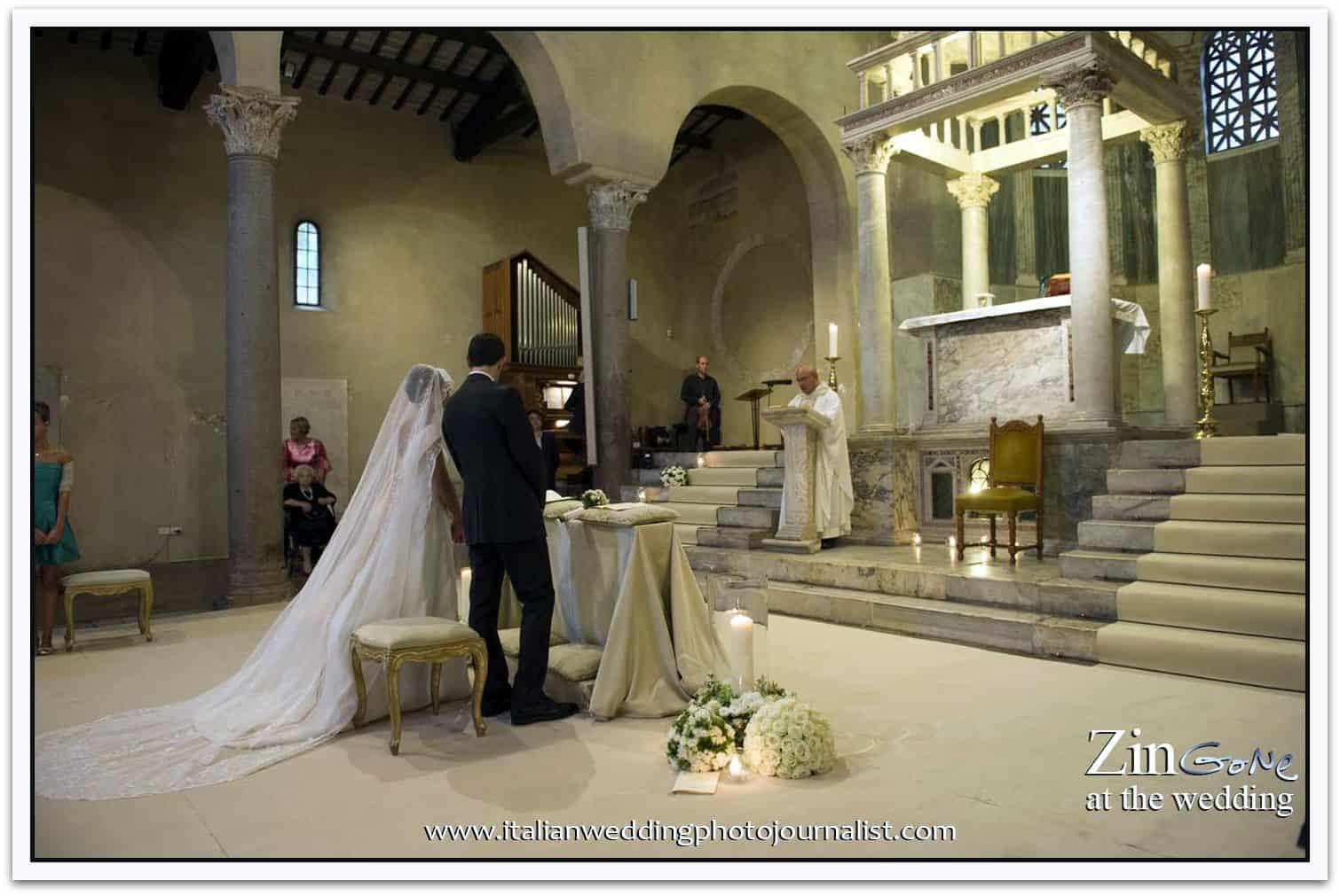 celebrazione del matrimonio in chiesa