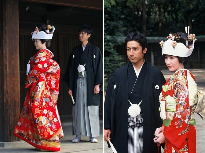 Matrimonio In Giappone : Uno sguardo all estero abito da sposa tradizionale