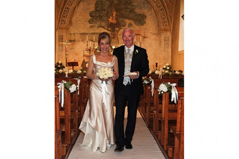 Desireé in abito da sposa mod. Carolyn personalizzato