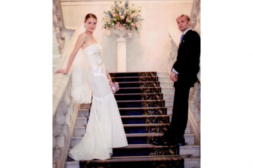 Katia in abito da sposa mod. Marilyn