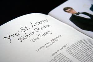 libro su YSL