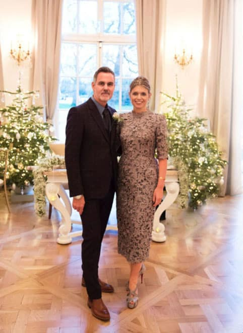 matrimonio della stilista Jenny Packham