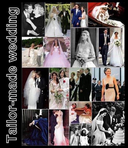 abiti da sposa delle celebrità
