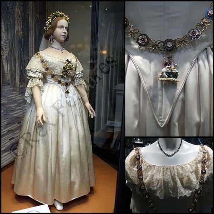 abito da sposa bianco di regina Vittoria