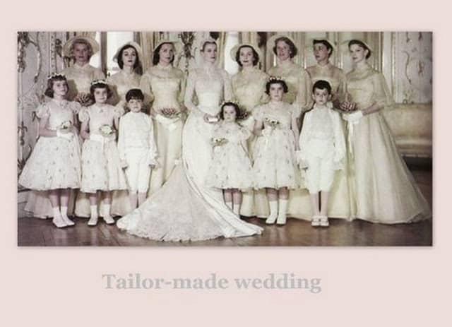 Grace Kelly e le sue damigelle