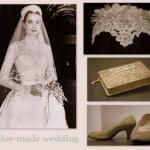 abito da sposa di Grace Kelly