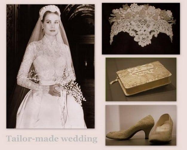 Scarpe Sposa Grace Kelly.Abito Da Sposa Della Principessa Grace Kelly Rito Religioso