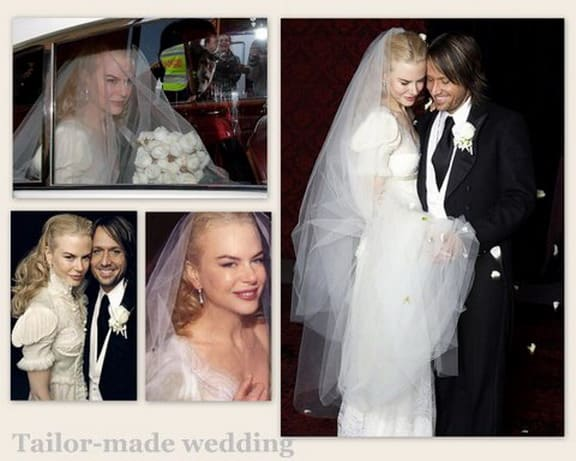abito da sposa di Nicole Kidman