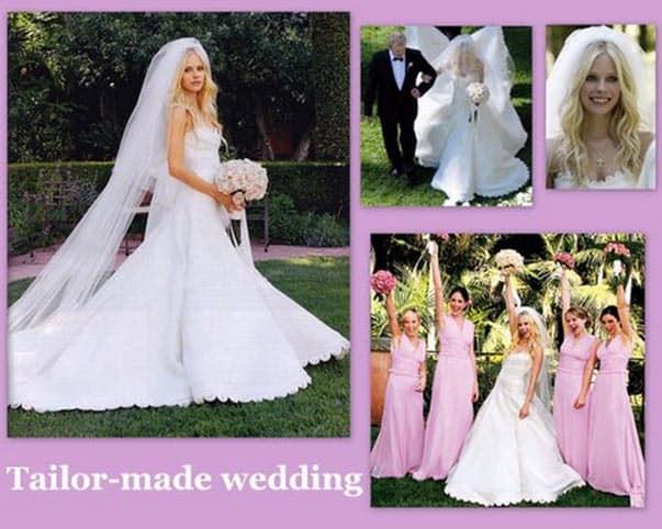 abito da sposa di Avril Lavigne