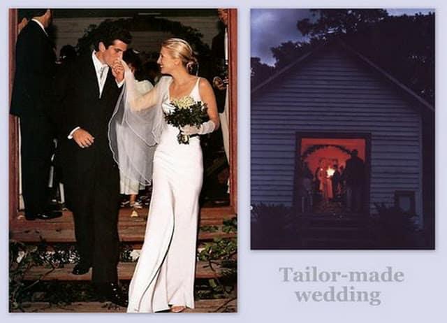 abito da sposa di Carolyn Bessette-Kennedy