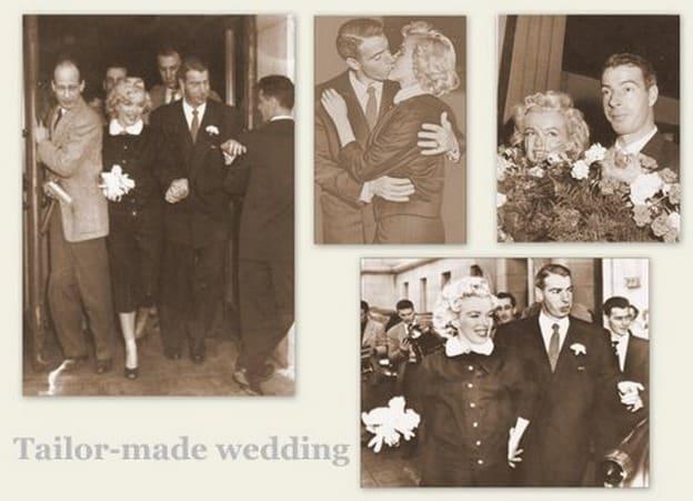 abito da sposa di Marilyn Monroe