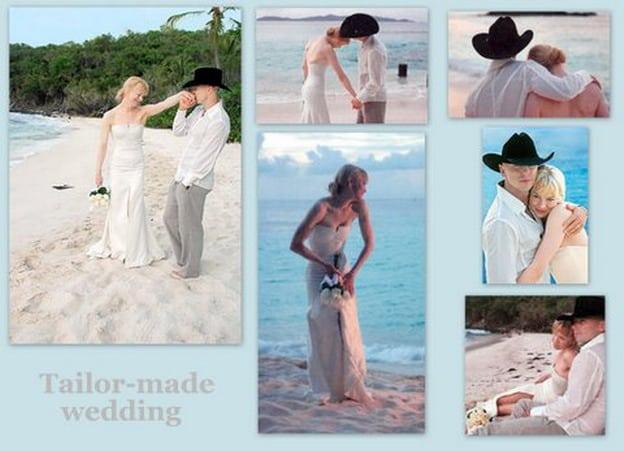 abito da sposa di Renee Zellweger