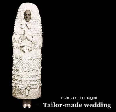 abito da sposa insolito