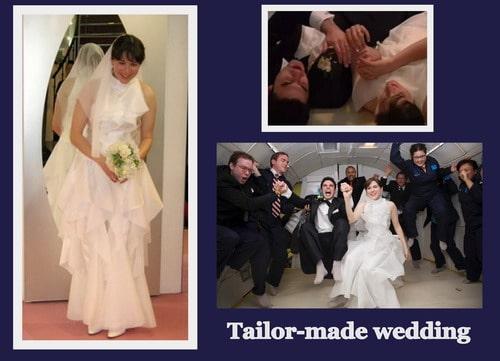 matrimonio spaziale