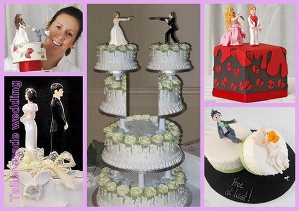 torta addio matrimonio