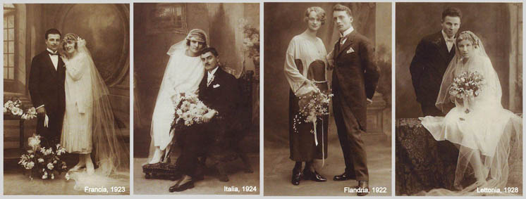 ispirazione sposa anni '20
