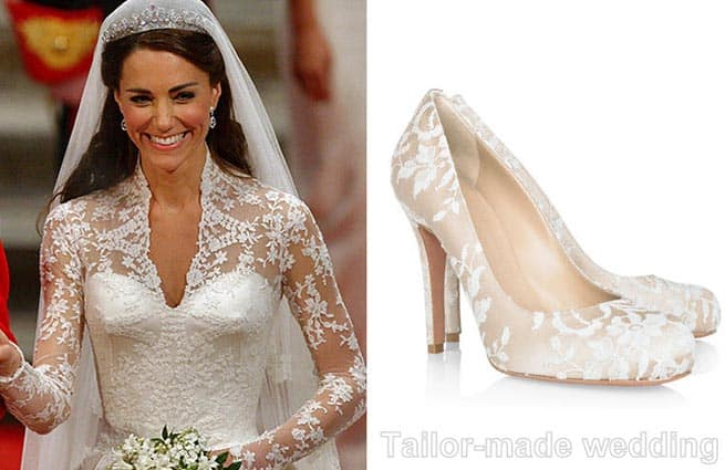 abito da sposa di Kate Middleton