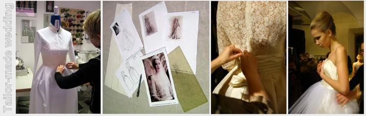 imitazione dell' abito da sposa di Grace Kelly
