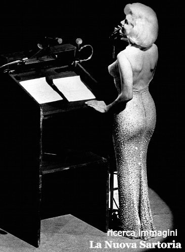 Marilyn Monroe a Madison Square Garden