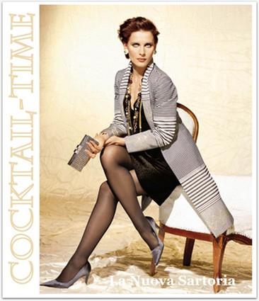 Cocktail: abito con soprabito elegante