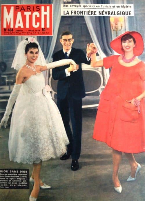 """Copertina di """"Paris Match"""". 1958"""