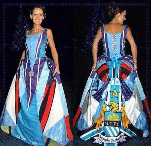 abito da sposa stravagante