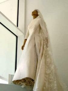 abito da sposa di valentino garavani