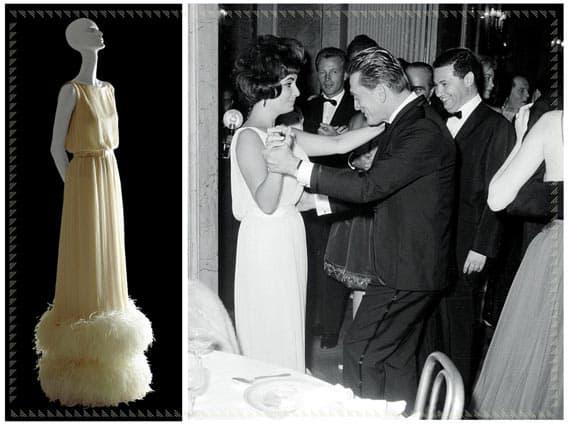 Liz Taylor in Valentino 1961