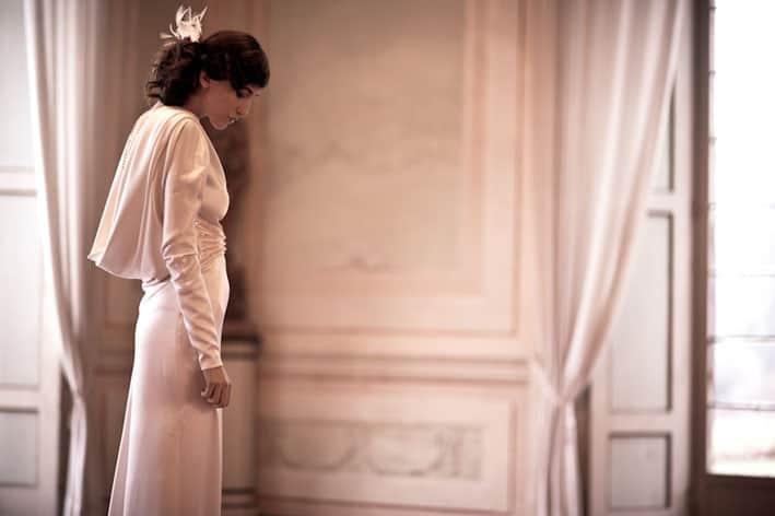 abito da sposa stile anni '30