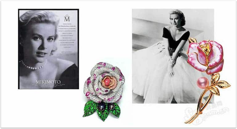 Grace Kelly e gioielli Mikimoto