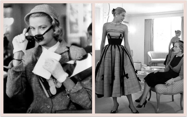 futura principessa Grace Kelly ai tempi di Hollywood