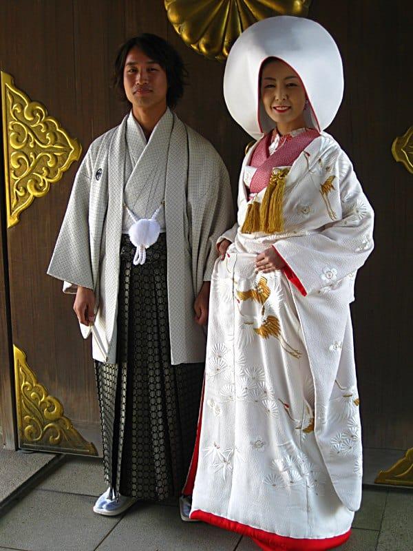 sposa giapponese: kimono al ricevimento