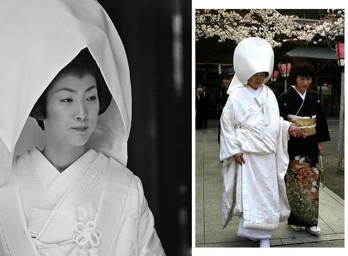 sposa japponese: matrimonio tradizionale