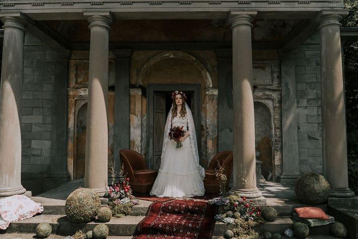 sposa stile boho talea couture