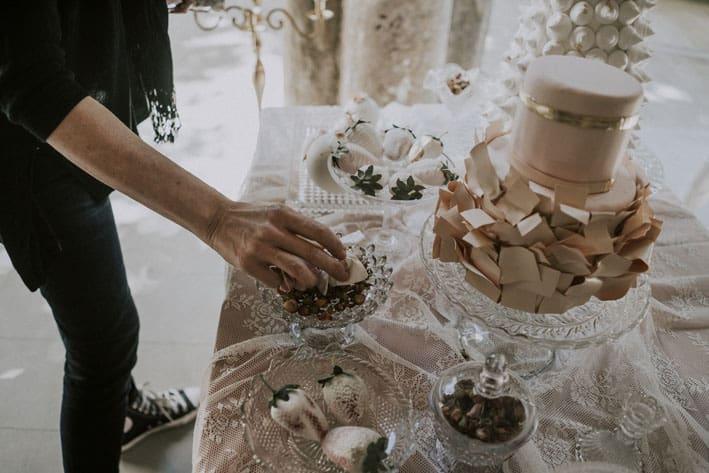 matrimonio dessert table