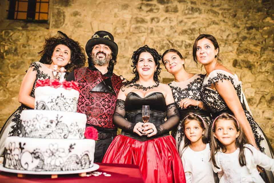 matrimonio in stile steampunk