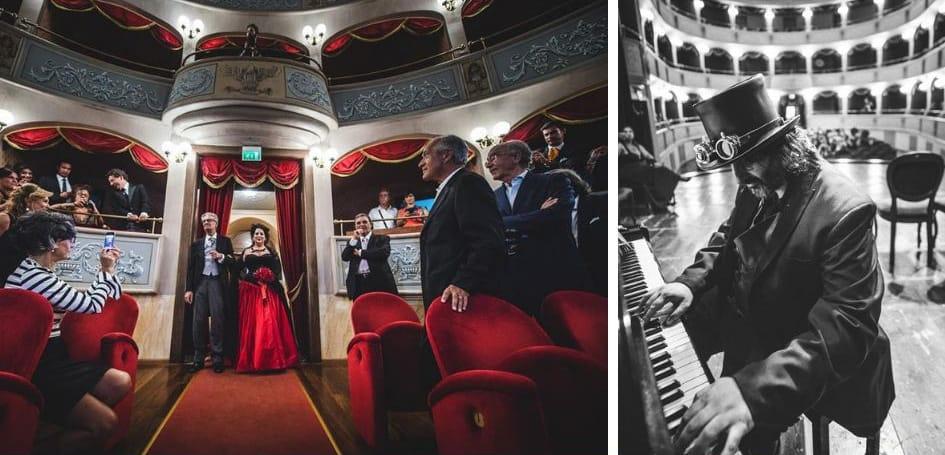 matrimonio alternativo in teatro