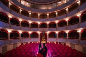 matrimonio in teatro di Modica